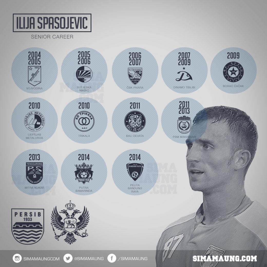 Karir Ilija Spasojevic