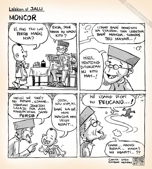 Komik Persib Moncor