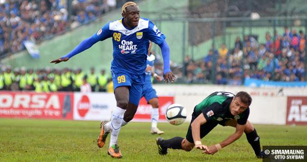 Herman Dzumafo Persib Bandung