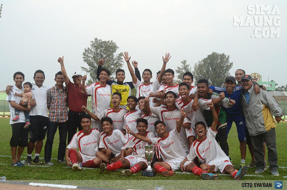 Persib Bandung Berita Online | simamaung.com » Saint Prima Juara Kompetisi U19 Pertama