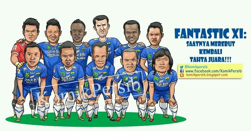 Persib Bandung Berita Online | simamaung.com » Komik Persib: Saatnya Merebut Kembali Tahta Juara