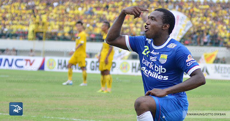 Persib Bandung Berita Online | simamaung.com » Cetak 2 Gol, Djibril Bungkam Ejekan Suporter Lawan