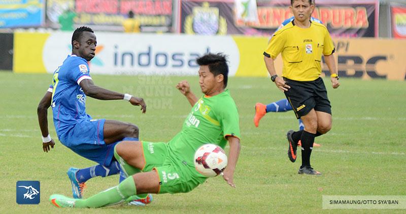 Persib Bandung Berita Online | simamaung.com » Foto PERSIB vs Persebaya 8 Besar LSI 2014