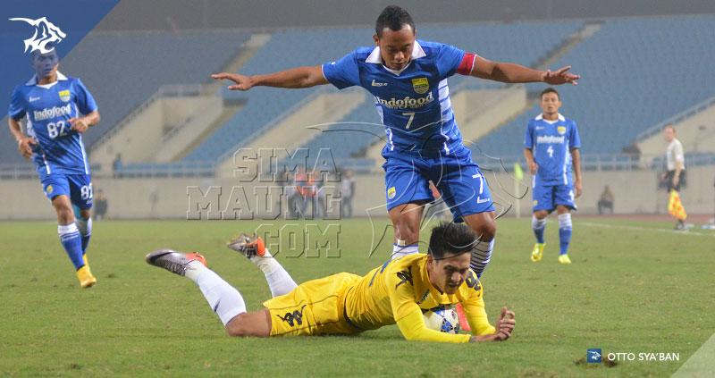 Persib Bandung Berita Online | simamaung.com » Foto PERSIB vs Hanoi T&T Playoff LCA 2015