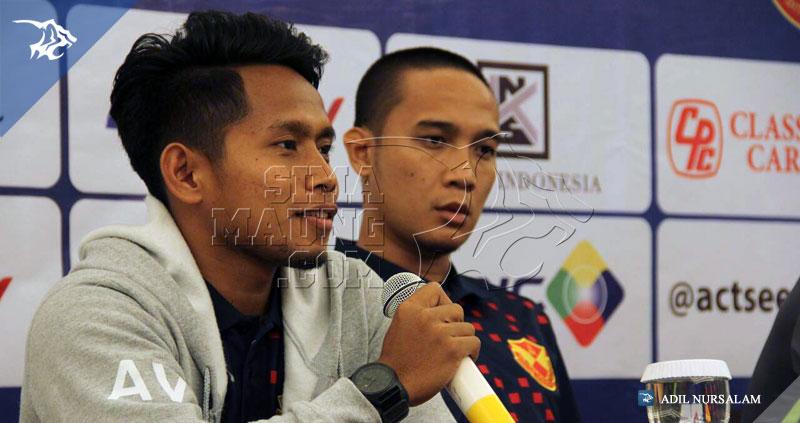 Konferensi-Pers-Persib-vs-Selangor-FA-V-Hotel-2015-Andik-Vermansyah