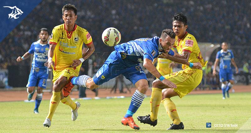 Persib Bandung Berita Online | simamaung.com » Foto PERSIB vs Sriwijaya FC Piala Presiden 2015