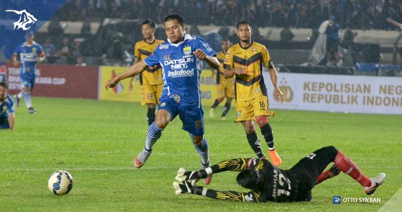 Tantan PERSIB vs MITRA KUKAR Piala Bhayangkara 2016 3