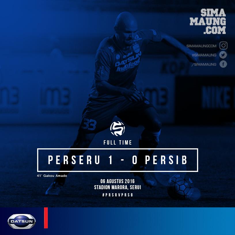 Match vs PERSERU FT