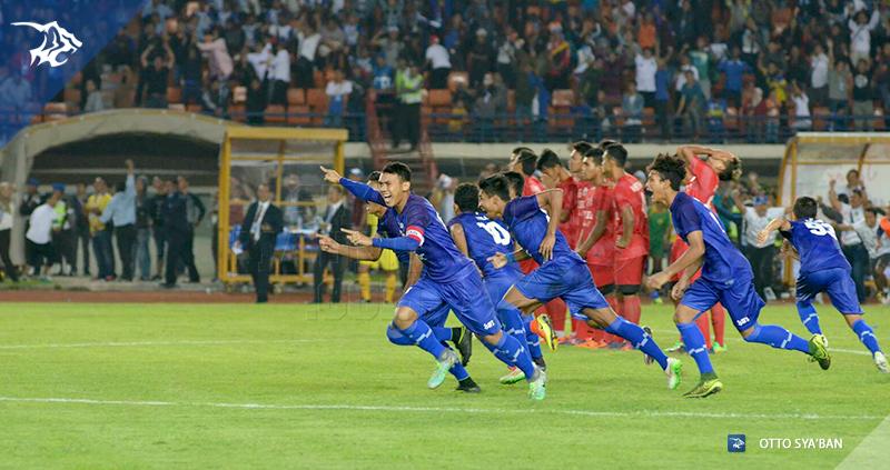 Tim sepakbola pon jabar final