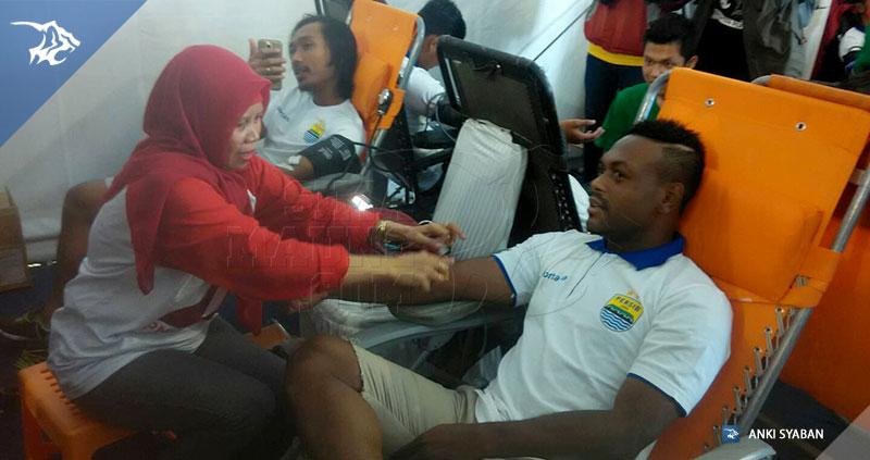 Persib donor darah