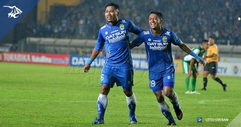 Persib vs PS TNI - Tony Sucipto - Febri Hariyadi