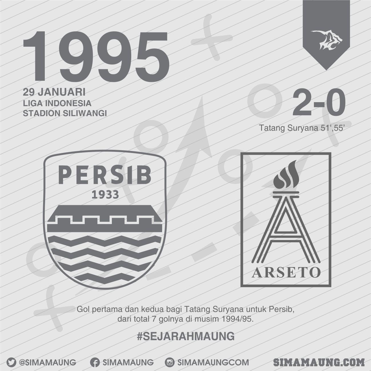 Persib vs Arseto