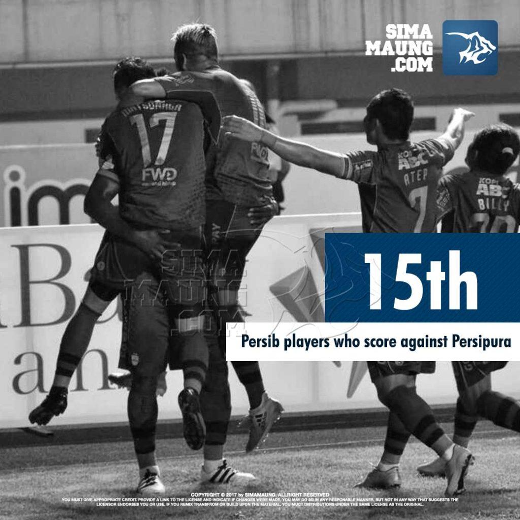 Essien Persib vs Persipura