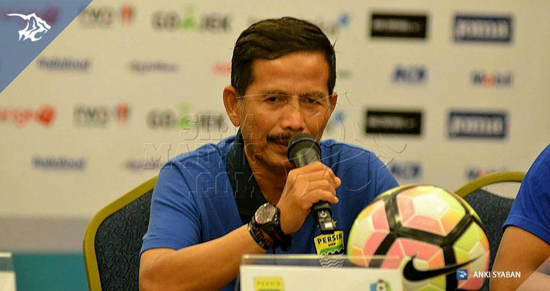 jajang nurjaman Konpers vs Bali United