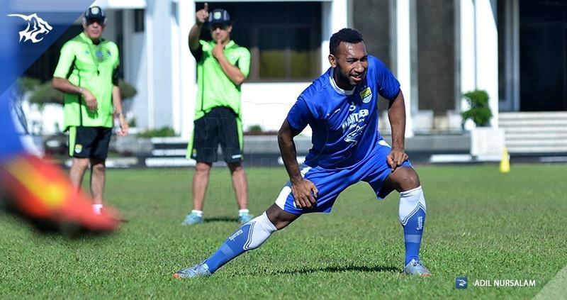 Patrick Wanggai di Persib Bandung